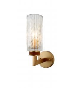Бра светильник Rivoli Anke 2057-401 настенный 1 * Е14 40 Вт хрусталь классика