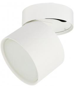 OL12 GX53 SWH Подсветка ЭРА Накладной под лампу Gx53, алюминий, цвет белый (40/960)