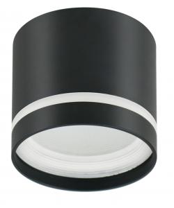 OL9 GX53 BK/WH Подсветка ЭРА Накладной под лампу Gx53, алюминий, цвет черный+белый (40/800)