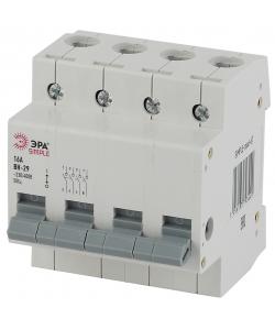 SIMPLE-mod-67 ЭРА SIMPLE Выключатель нагрузки 4P 16А ВН-29 (3/45/900)