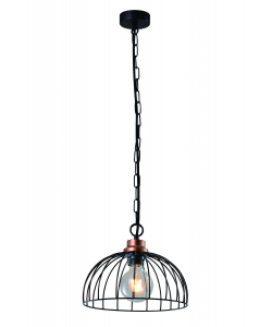 Светильник подвесной (подвес) Rivoli Agarola 1018-106 1 х Е27 40 Вт лофт - кантри