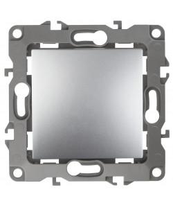 12-1111-03 ЭРА Кнопка, 10АХ-250В, Эра12, алюминий (10/100/2500)