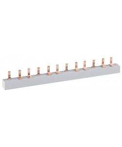 ЭРА NO-222-07  Шина соединительная типа PIN для 2-ф нагр. 100А 54 мод. (10/50/1000) (10/50/1000)
