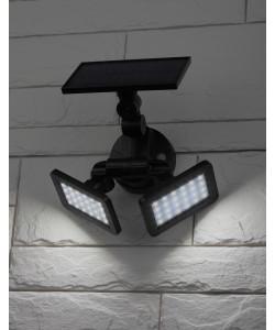 ERAFS020-41 ЭРА Фасадный светильник с двумя световыми панелями на солнечной батарее,2х24LED,180lm (6