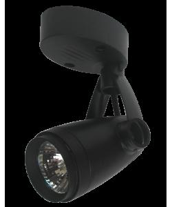 OL5 GU10 BK Светильник ЭРА Накладной, черный (50/600)