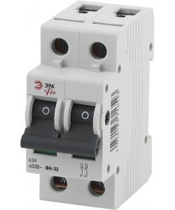 ЭРА Pro Выключатель нагрузки NO-902-164 ВН-32 2P 100A (6/90/1890)