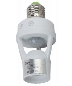 MD 015 Датчик движения ЭРА белый E27 60Вт 360гр 6м IP20 (50/1600)