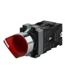ЭРА Переключатель LAY5-BK2465 2 положения красный (20/200/3200)