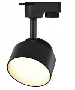 TR16 GX53 BK Светильник ЭРА Трековый под лампу Gx53, алюминий, цвет черный (40/320)