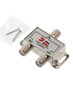 Делитель ТВ ЭРА Simple DS-F-01 2 ответвления под F разъём 5-1000 МГц