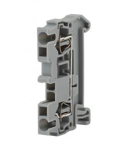 ЭРА NO-222-35  Зажим клеммный безвинтовой (ЗНБ) 4 мм2 40А  серый (50/1400/33600) (50/1400/33600)