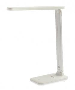 Настольный светильник ЭРА NLED-495-5W-W светодиодный аккумуляторный складной белый