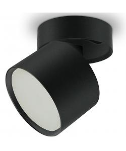 OL12 GX53 SBK Подсветка ЭРА Накладной под лампу Gx53, алюминий, цвет черный (40/960)