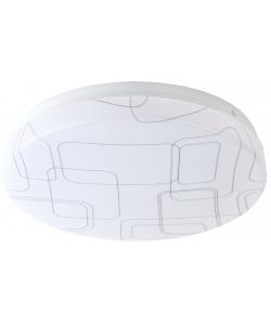 Светильник потолочный светодиодный ЭРА Slim без ДУ SPB-6 Slim 2 18-6K 18Вт 6500K