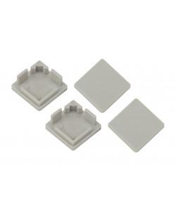 ЭРА 1616S-3A Набор заглушек для профиля CAB280, 4 глухие квадратные (500/24000)