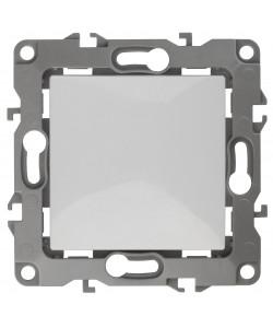 12-1111-01 ЭРА Кнопка, 10АХ-250В, Эра12, белый (10/100/3000)