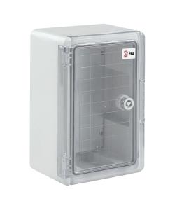 Щит распределительный ЩМП-П ЭРА box352515_t 350х250х150мм прозрачная дверь УХЛ1 IP65 IK10