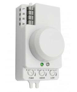 MD 202 Датчик движения ЭРА микроволновый белый, 1200Вт, 360 гр.,8М,IP20, (100/2800)