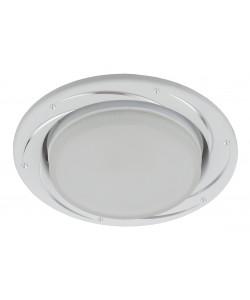 KL 77 AL/WH Светильник ЭРА под лампу Gx53,220V, 13W, серебро/белый (50/1500)