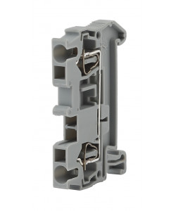ЭРА NO-222-37  Зажим клеммный безвинтовой (ЗНБ) 6 мм2 52А  серый (30/660/15840) (30/660/15840)