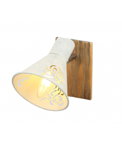 Светильник настенно-потолочный спот Rivoli Cansaro 7012-701 1 х Е14 40 Вт поворотный