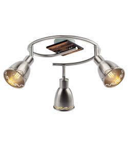 Светильник настенно-потолочный спот Rivoli Acerno 8002-513 3 х Е14 40 Вт поворотный