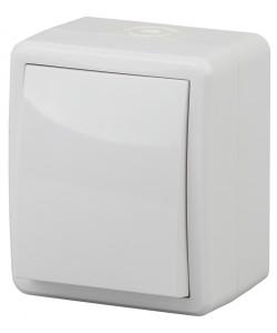 11А-1401-01 ЭРА Выключатель IP54, 10АХ-250В, ОУ, Эра Эксперт, Al+Cu, белый (16/160/2880)