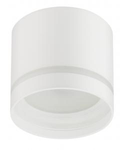 OL9 GX53 WH/WH Подсветка ЭРА Накладной под лампу Gx53, алюминий, цвет белый+белый (40/800)