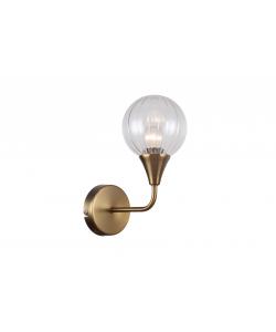 Бра светильник Rivoli Adora 5041-401 настенный 1 х Е14 40 Вт лофт - кантри
