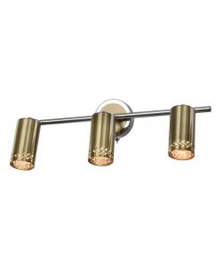 Светильник настенно-потолочный  спот Rivoli Alosia 7019-703 3 * GU10 50 Вт поворотный с выключателем