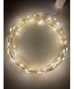 ENIN -10NW ЭРА Гирлянда LED Нить 10 м теплый свет 220V (100/1800)