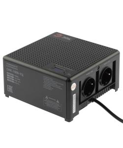 Стабилизатор напряжения ЭРА  CНК-1000-УЦ компактный универсальный, 140-260В/220В, 1000ВА