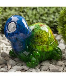 ERAFYS01-06 ЭРА Садовый светильник Черепаха на солнечной батарее, полистоун, 13 см (24/192)