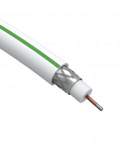 ЭРА Кабель коаксиальный SAT 703 B,75 Ом, CCS/(оплётка Al, 75%), PVC,цвет белый,  бухта 100 м, SIMPLE (4/96)