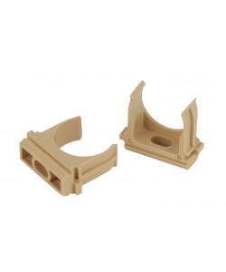 ЭРА Крепеж-клипса (сосна) для трубы d 25мм (10шт) (10/900/27000)