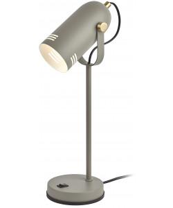 ЭРА наст.светильник N-117-Е27-40W-GY серый (12/48)