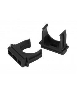 ЭРА Крепеж-клипса (черный) для трубы d 16мм (100/2000/70000)