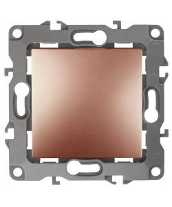 12-1111-14 ЭРА Кнопка, 10АХ-250В, Эра12, медь (10/100/2500)