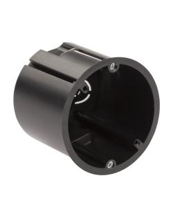 Коробка установочная ЭРА  KUP-73-73-m-black для полых стен саморезы металлические лапки черная IP20