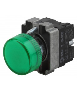 ЭРА Индикатор LAY5-BU63 зеленого цвета d22мм (20/200/6400)