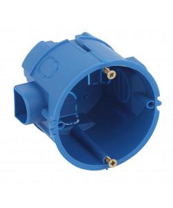 ЭРА Коробка установочная КУТС 68х60мм для твердых стен саморез., стыковочные узлы синяя IP20 (160/3200)