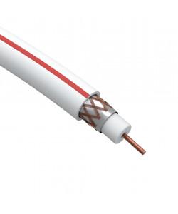ЭРА Кабель коаксиальный SAT 50 М, 75 Ом, Cu/(оплётка Cu 75%), PVC, цвет белый, бухта 10м (40/480)