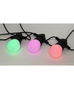 ERABL-MK3 ЭРА Гирлянда ЭРА Белт-лайт набор 3 м, 10 RGB LED,дин.реж,с трансфом,каучук 24В,IP44 (6/168
