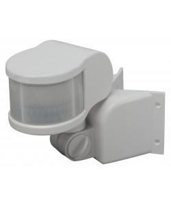 MD 014 Датчик движения ЭРА белый, макс. нагрузка 1100Вт, угол обзора 270град., дальность 12м, IP44 (