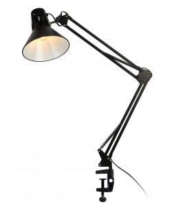 ЭРА наст.светильник N-121-E27-40W-BK черный (18/72)