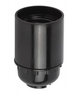 ЭРА Патрон Е27 подвесной, бакелит, черный (x50) (50/200/9600)