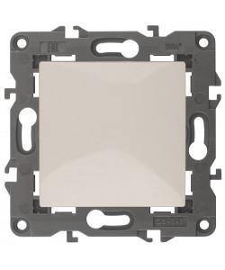 14-1101-02 ЭРА Выключатель, 10АХ-250В, IP20, Эра Elegance, сл.кость (10/100/3000)