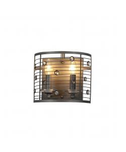 Бра светильник Rivoli Confusione 5015-401 настенный 2 x E14 60 Вт лофт - кантри