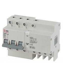 SIMPLE-mod-39 ЭРА SIMPLE Автоматический выключатель дифференциального тока 3P+N 40А 30мА тип АС х-ка