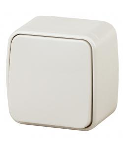 3-101-02 Intro Выключатель, 10А-250В, IP20, ОУ, Polo, сл.кость (18/360/4320)